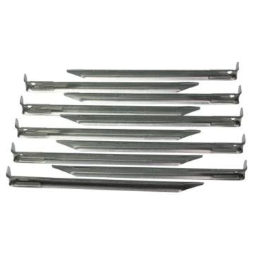 10T Stahl V-Profil-Hering 10er-Set