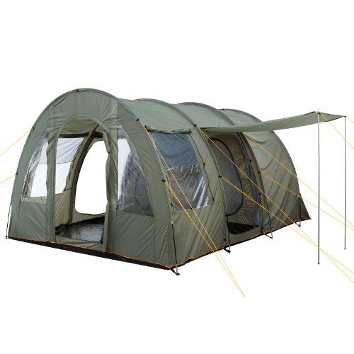 CampFeuer - Großes Tunnelzelt mit Schlafkabine