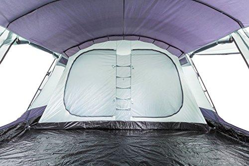 Tunnelzelt CampFeuer - 6+6 Personen Familienzelt riesiger Vorraum