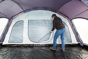 Tunnelzelt CampFeuer - Großes Familienzelt 8+8 Personen
