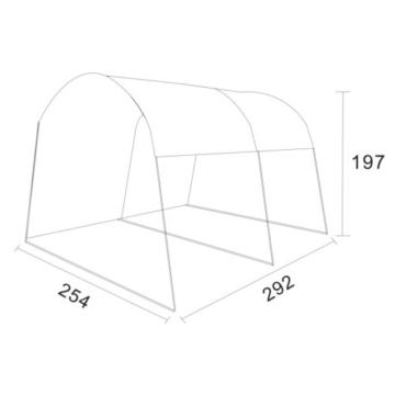 10 T Outdoor Equipment - Pavillon Tunnelform
